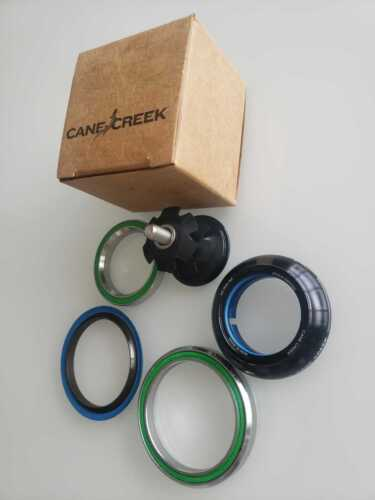Cane Creek Forty 40 IS41/28.6 IS52/40 Tapered Short Cover Bicycle Headset, Black
