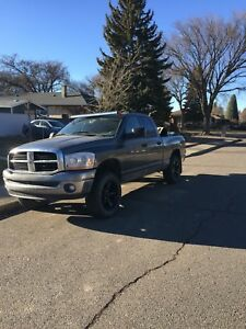 2007 ram 1500 lifted trade for other tucks or cash