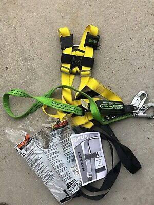Miller Fall Protection Contractor Safety Construction Harness W Back Support