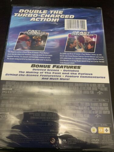 Brand New Fast Furious Collection 1 2 Dvd - $9.99
