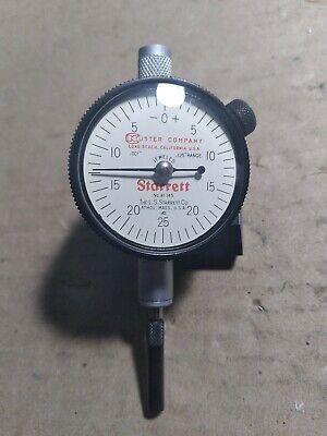 Starrett .001 - .125 Dial Indicator No. 81-145