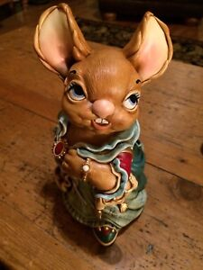 """Rare Collectable Large Pendelfin """"Aunt Ruby"""" Figurine"""