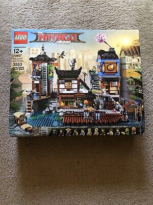 Lego The LEGO Ninjago Movie NINJAGO City Docks (70657) - New.  Box Wear