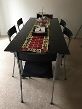 Dining table and chairs Holsworthy Campbelltown Area Preview