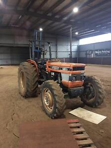 Kubota Tractor with post driver Beaconsfield Upper Cardinia Area Preview