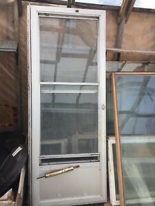 5 aluminum screen doors
