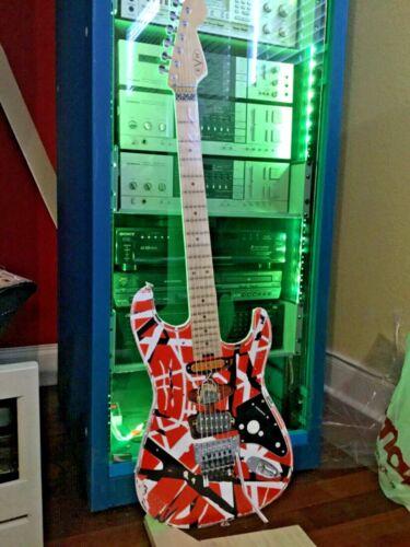 Eddie Van Halen guitar Prop print