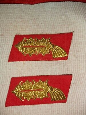 WW2 Generals Repro Collar Tabs (both the same side)