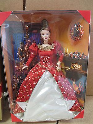 1999 Holiday Treasures Barbie doll- Collectors Club