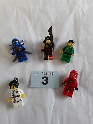 Lego Ninjago Figures Set No 3
