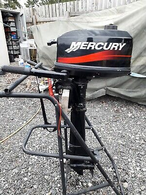 Mercury 4 hp Outboard motor long shaft 2005 model 2 stroke