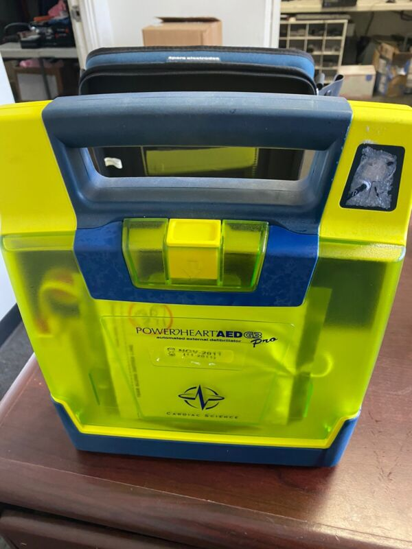 Cardiac Science Powerheart G3 Plus AED- Pads and Battery