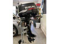 2008 Suzuki 6 HP (DF6) Outboard Motor Tiller Steering Handle Assembly RUNS GREAT