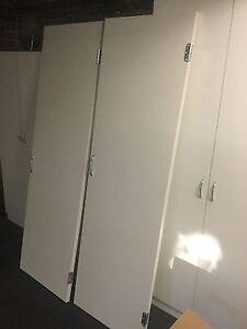 Wardrobe doors with hinges & handles - $60 per door Brighton East Bayside Area Preview