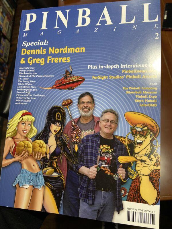 Pinball Magazine #2 186 Pages 2013 - Elvira, Pinball Arcade, Stern