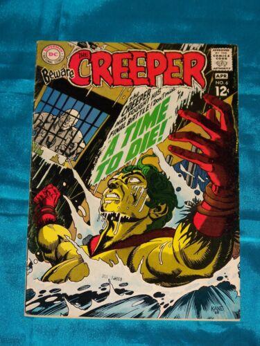 BEWARE THE CREEPER! # 6, Apr. 1969, STEVE DITKO ART, VERY FINE MINUS Condition
