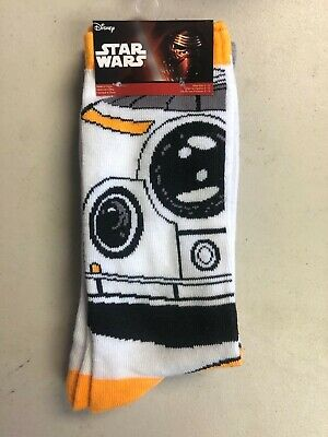 """New"" STAR WARS BB-8 DROID / R2-D2 SOCK 2 Pack Size 6-12"