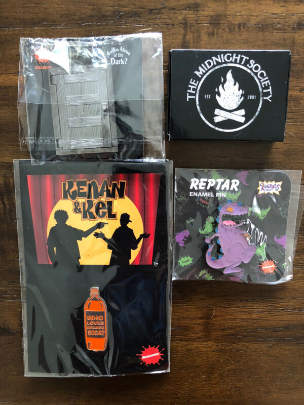 The Nick Box Exclusive Lot Of 4 Pins