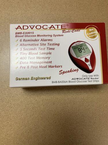 Advocate Redi-Code Plus Non-Speaking Glucose Meter