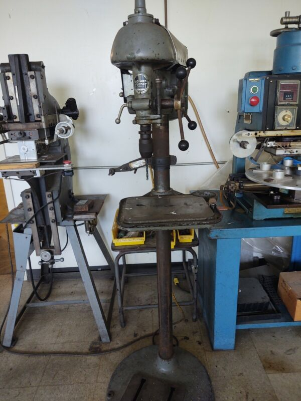 Walker Turner drill press floor model