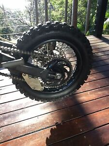 Thumpstar pitbike atomik wheel set Bayview Pittwater Area Preview