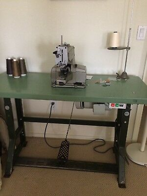 Juki Mb-373 Bar Tacker Chainstitch Heavy Duty Industrial Sewing Machinetable