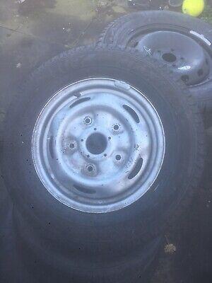 Ford Transit Custom  Spare Wheel 215 65 R15C  Good Tyre Genuine Wheel