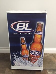 BudLight Fridge Freezer Brand New