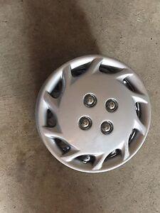 4 Enjoliveur 13 pouce inch Hubcap silver argent