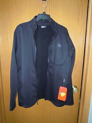 The North Face Men's Canyonlands Full Zip Jacket Black Jacket Size Med NWT  $80