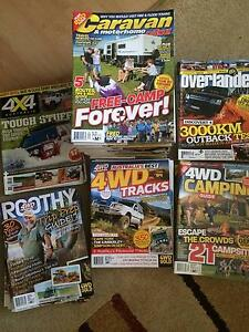 Assorted 4WD and camping magazines Aberfoyle Park Morphett Vale Area Preview