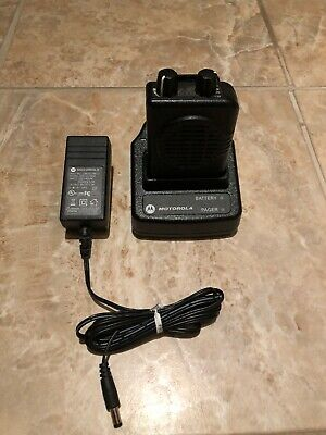 Motorola Minitor V 151-158.9975mhz Vhf 2-ch Pager W Charger A03kms7239bc