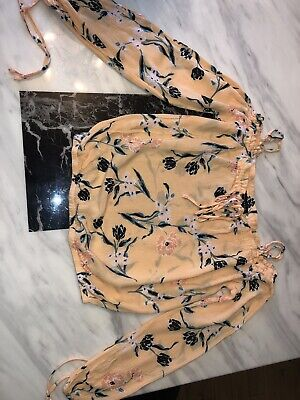 Kendall and Kylie Floral Top Size Small