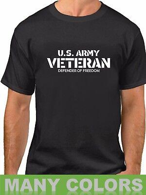 Day Tee - U.S. Army Veteran T-Shirt Defender Of Freedom Veterans Day Tee Shirt Military