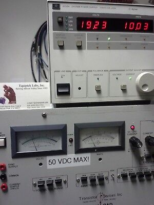 Agilent 6038a Programmable Dc Power Supply 0 To 60v 0 To 10a 200w Max. Tested