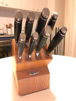 Tuffsteel Knife Block Set of 8 Knives