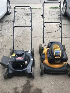 Two Lawnmowers new price 175.00