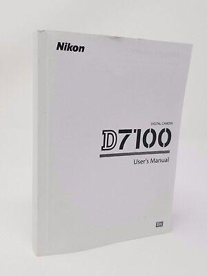 Инструкции и руководства Nikon D7100 7100