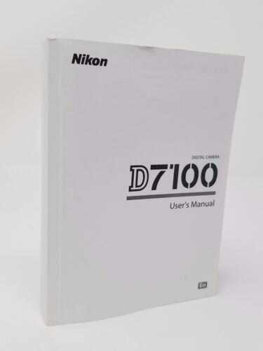 Nikon D7100 7100 Instruction Owners Manual D7100 Book NEW