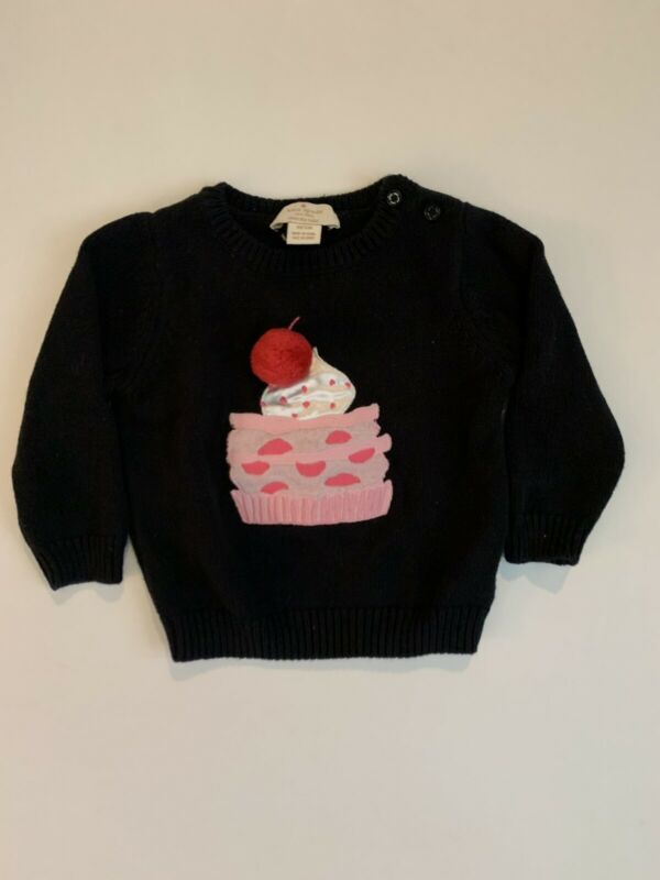 kate spade new york Sweater 12M 12 Months Cupcake Birthday Baby Infant Toddler