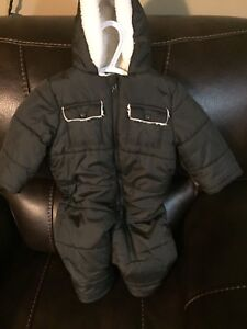 6-12 Month snow suit used once