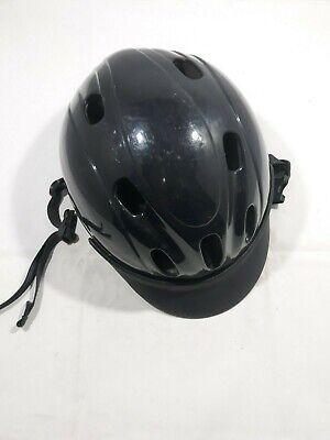 Troxel Black Small Helmet Flip Fold Spirit Sports Protection Riding Equestrian Troxel Equestrian Spirit Helmet