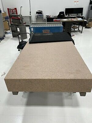 Starrett Granite Surface Plate With Stand And Cover