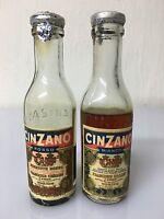 Raro Mignon Miniature Cinzano Rosso - Bianco Vermouth 5.5cl 16.5% Vintage -  - ebay.it