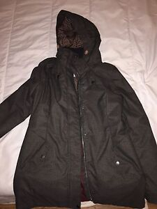 Women's XL O'Neill winter jacket in Grey