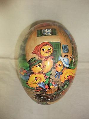 Original DDR Kult Osterei Pappei Ostern Candy Container Candycontainer 15 cm