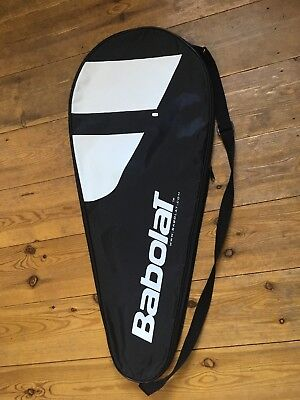 Babolat Tennis Racket Cover NEW Detail, Black With Strap. Suitable for Any.