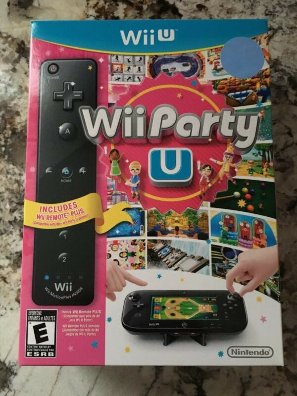 Wii Party U Nintendo Wii U EMPTY BOX ONLY