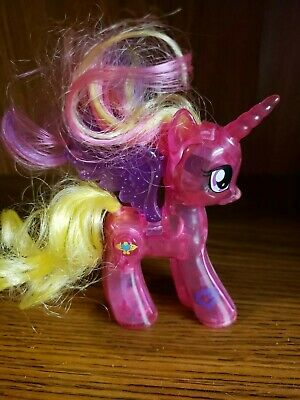 "My Little Pony G4 ""PRINCESS CADANCE"" (Shine Bright) Brushable 4"" Lights Up!"