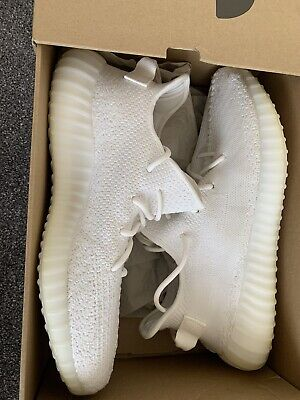 Adidas Yeezy Boost 350 V2 Triple White UK 12.5 Us 13 Used